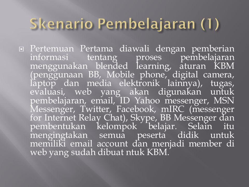 Skenario Pembelajaran (1)