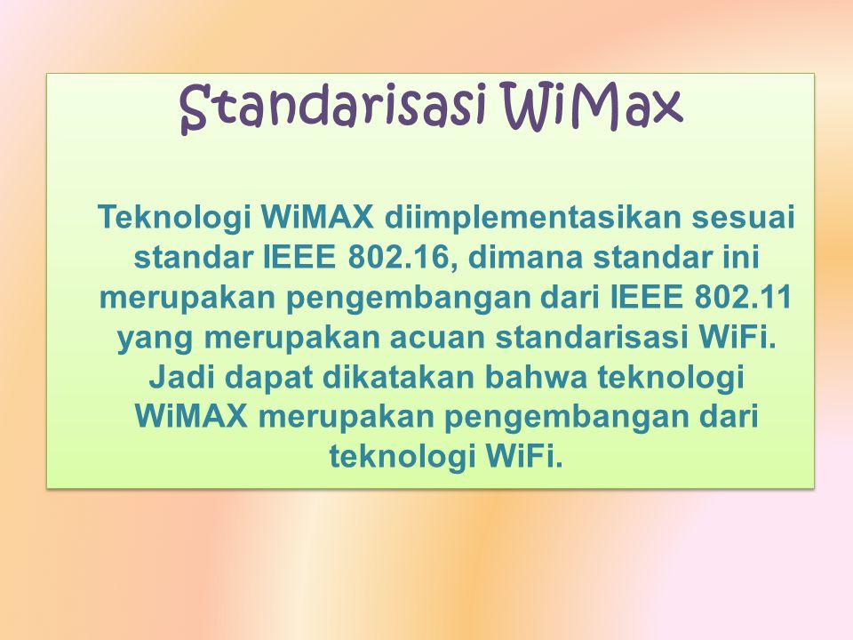 Standarisasi WiMax