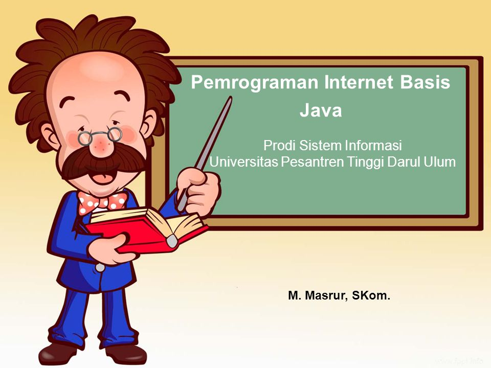 Pemrograman Internet Basis Java