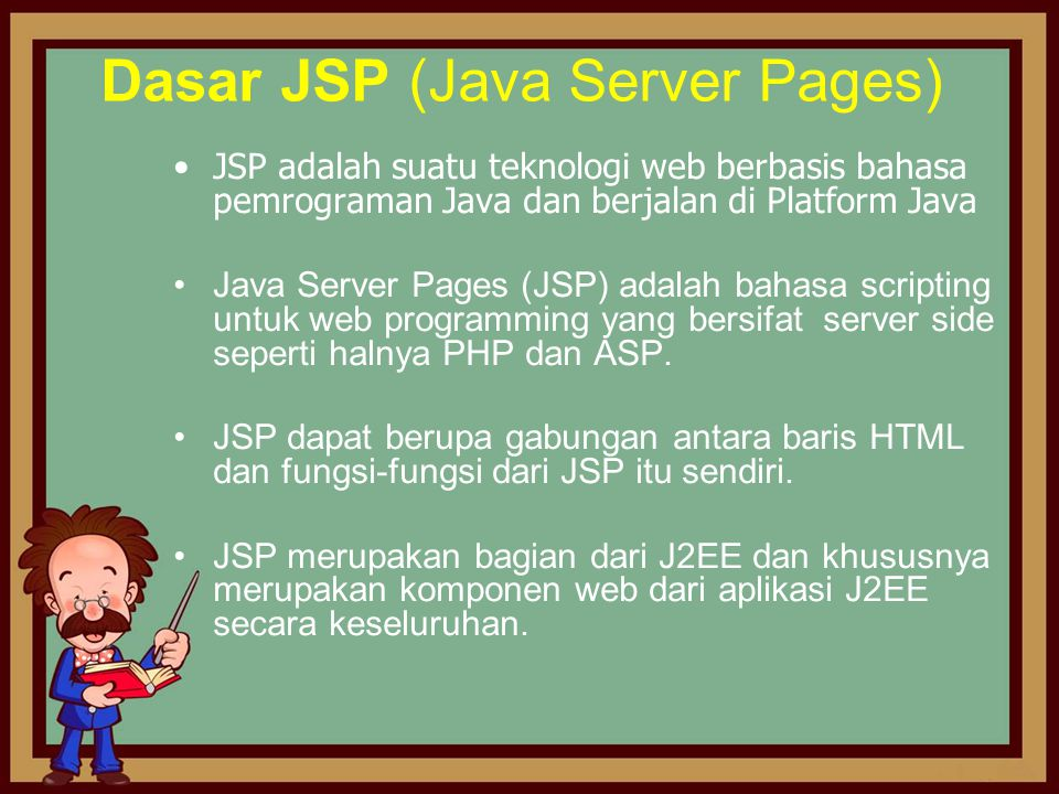 Dasar JSP (Java Server Pages)