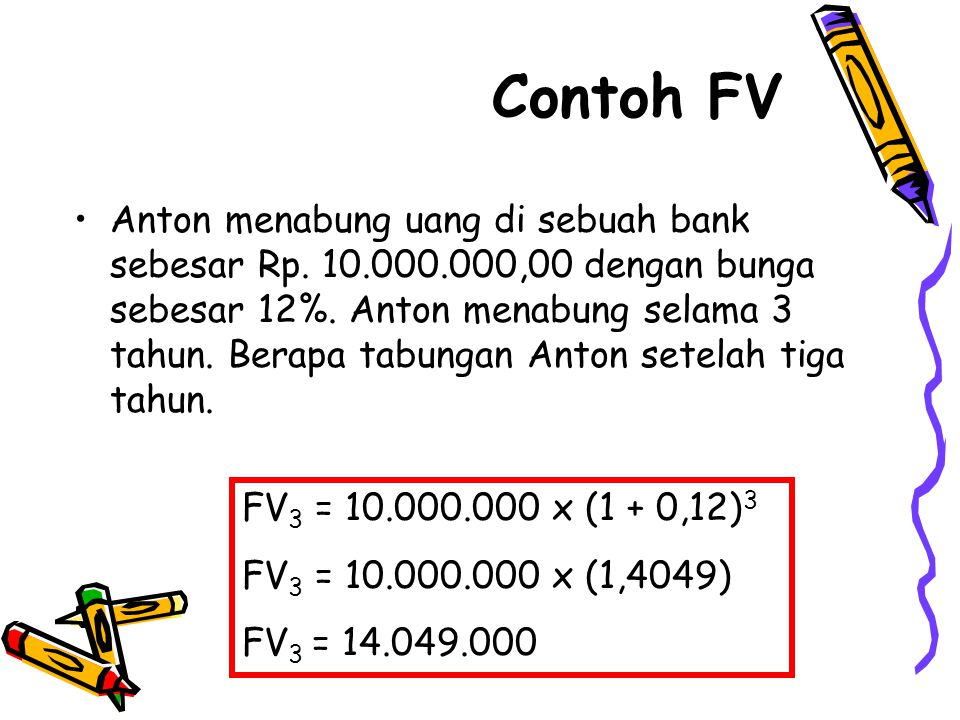 Contoh FV