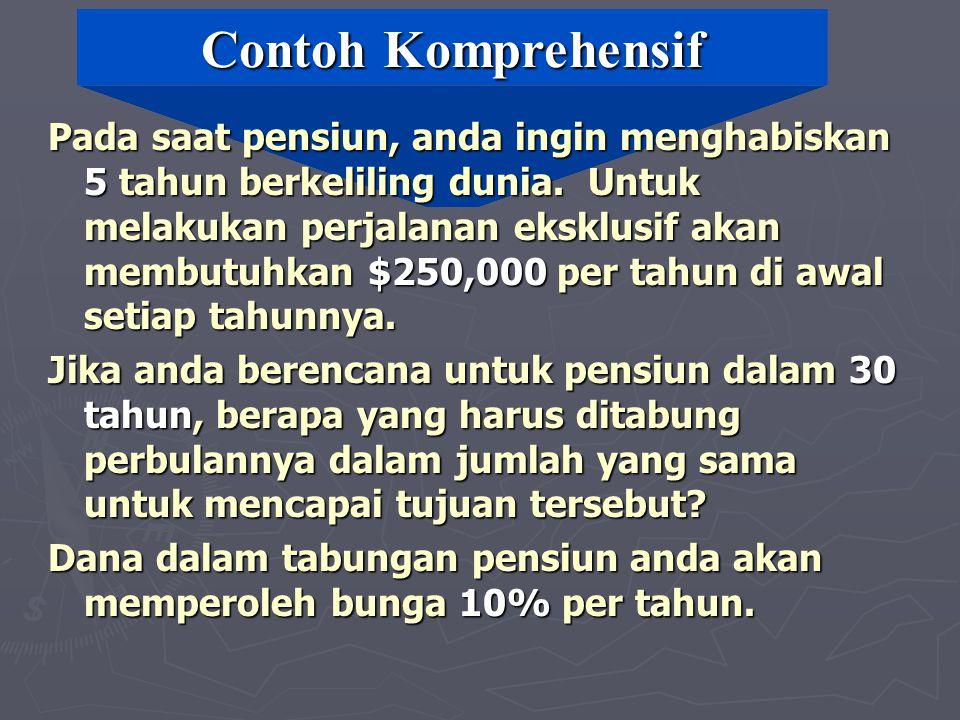 Contoh Komprehensif