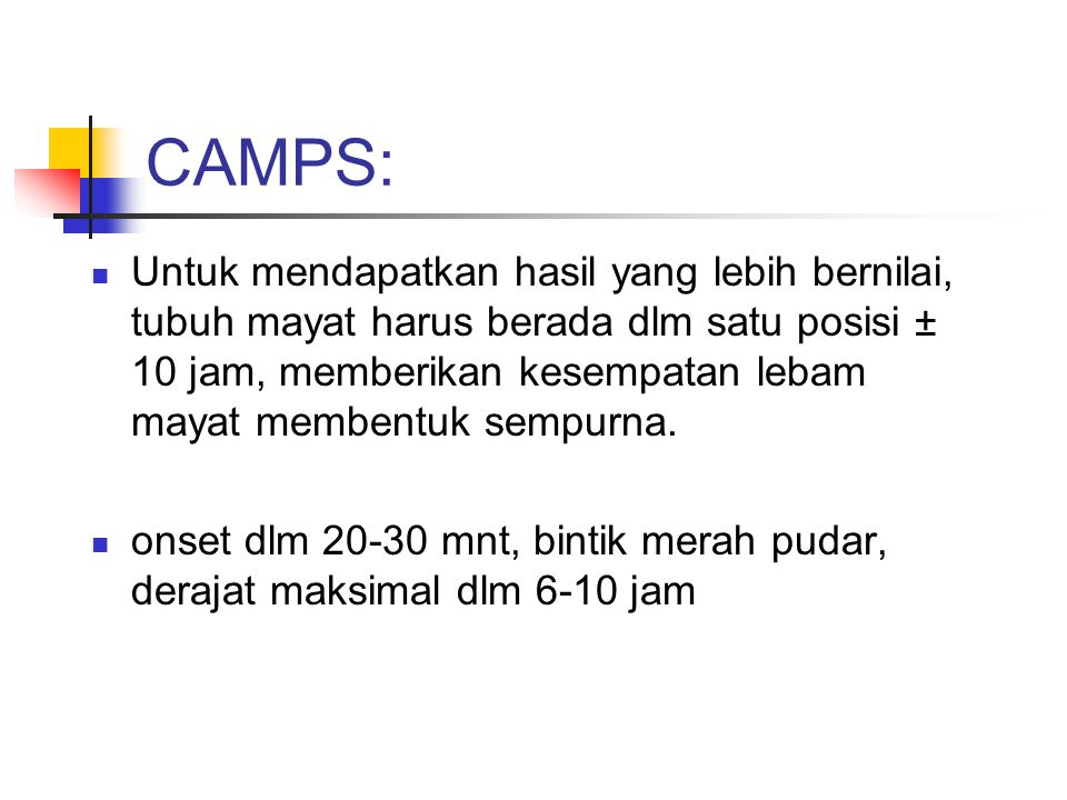 CAMPS: