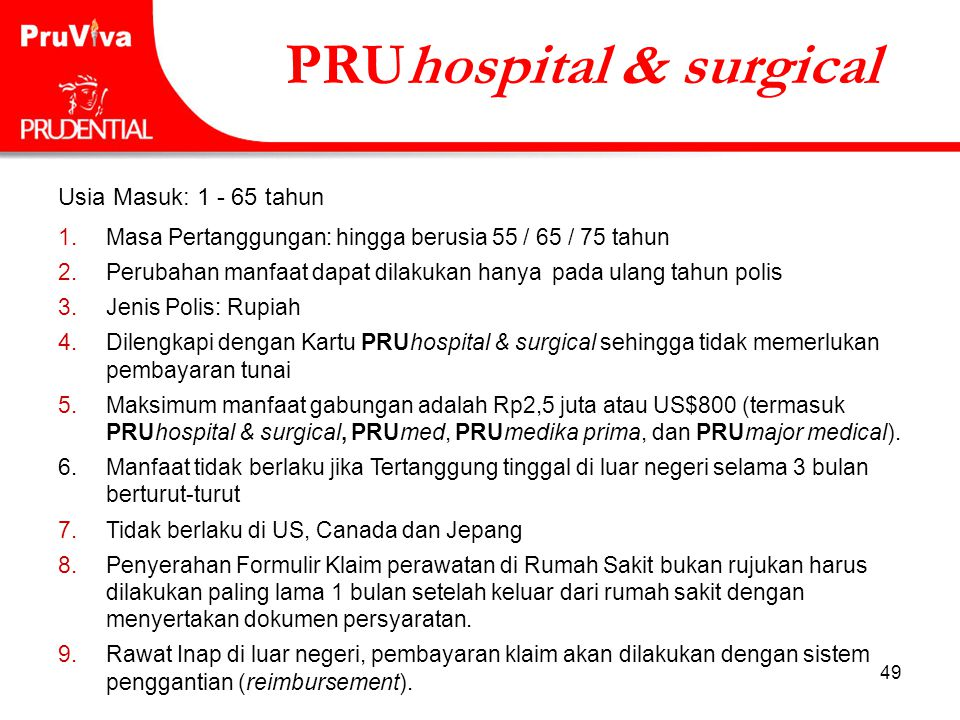 PRUhospital & surgical