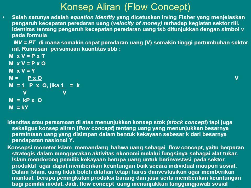 Konsep Aliran (Flow Concept)