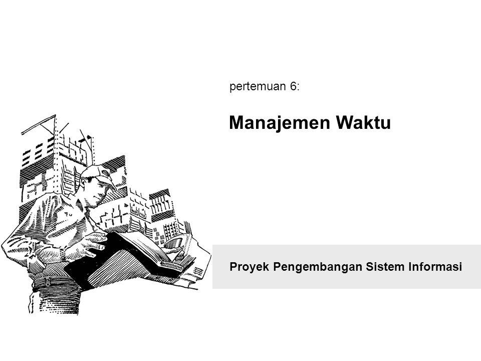 pertemuan 6: Manajemen Waktu