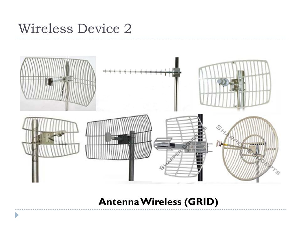 Wireless Device 2 Antenna Wireless (GRID)