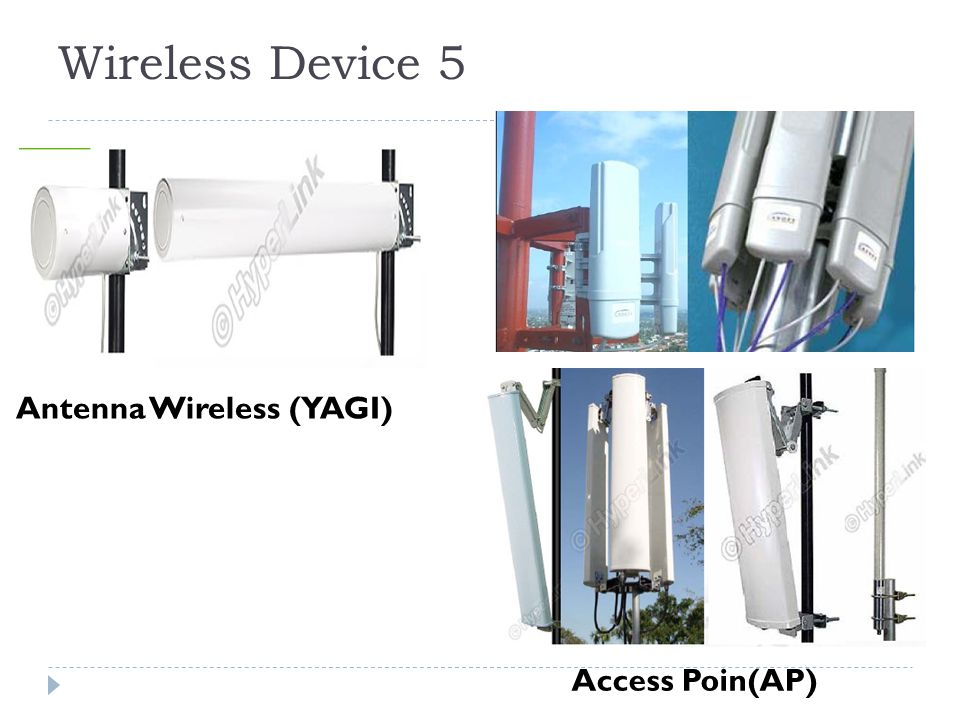 Wireless Device 5 Antenna Wireless (YAGI) Access Poin(AP)