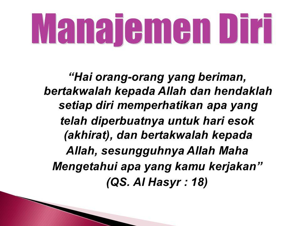 Manajemen Diri