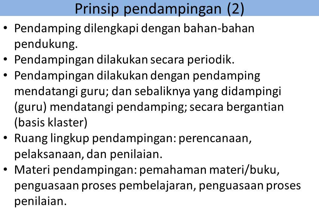 Prinsip pendampingan (2)