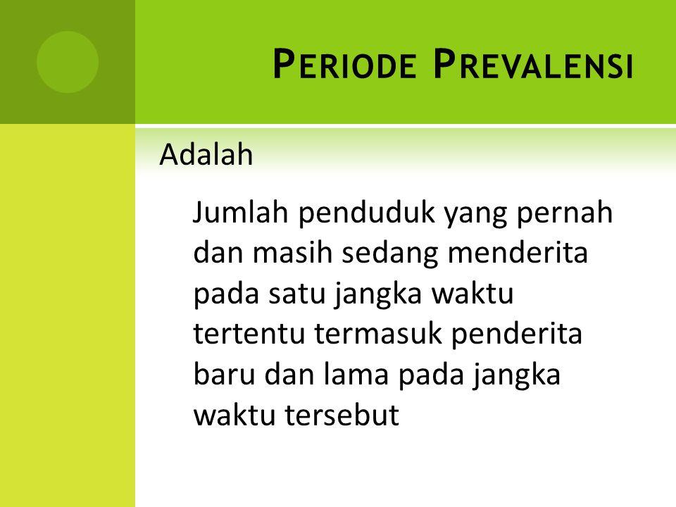 Periode Prevalensi