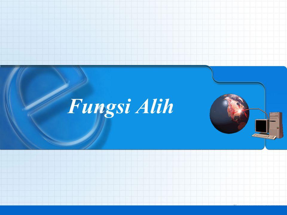 Fungsi Alih