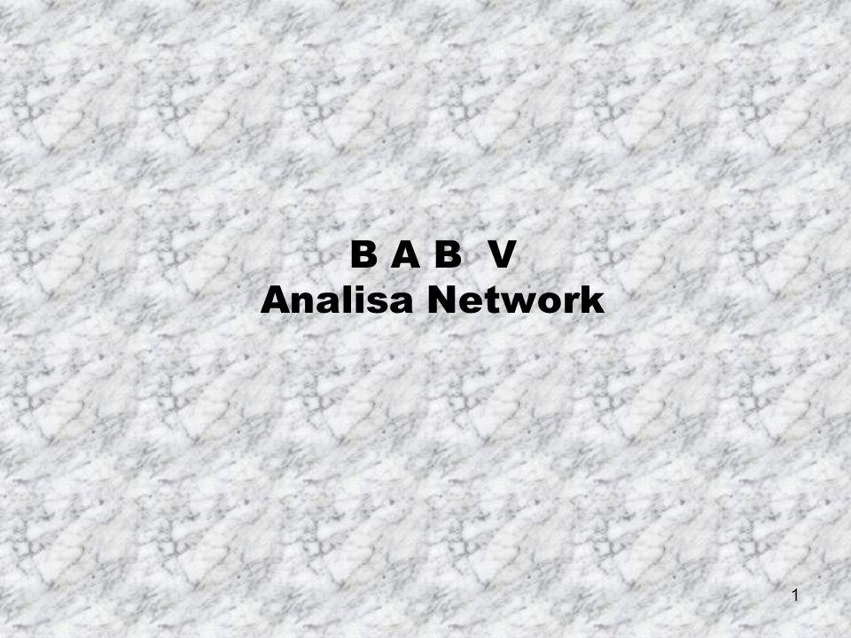 B A B V Analisa Network