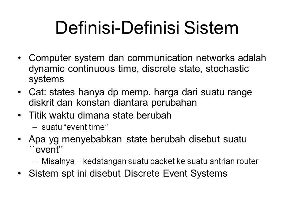 Definisi-Definisi Sistem