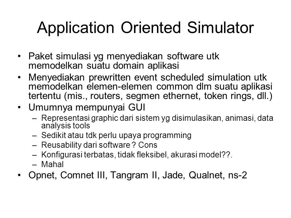 Application Oriented Simulator