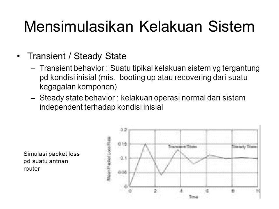 Mensimulasikan Kelakuan Sistem