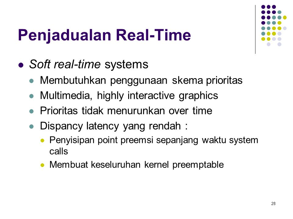 Penjadualan Real-Time