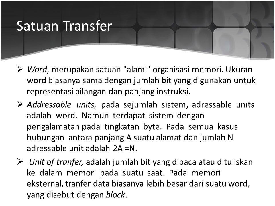 Satuan Transfer
