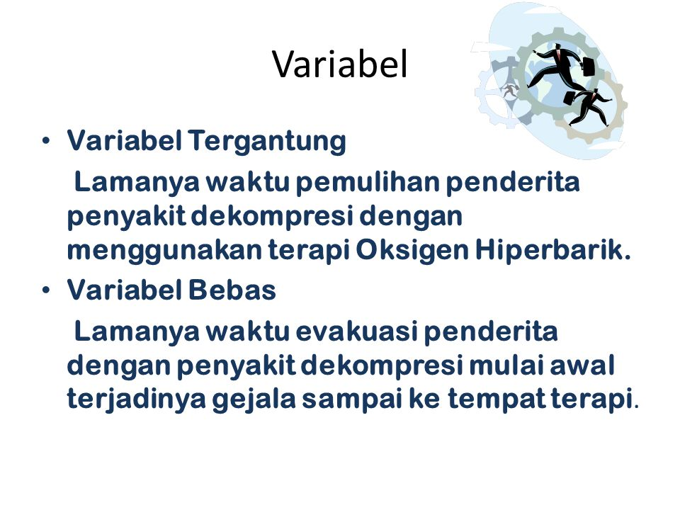 Variabel Variabel Tergantung