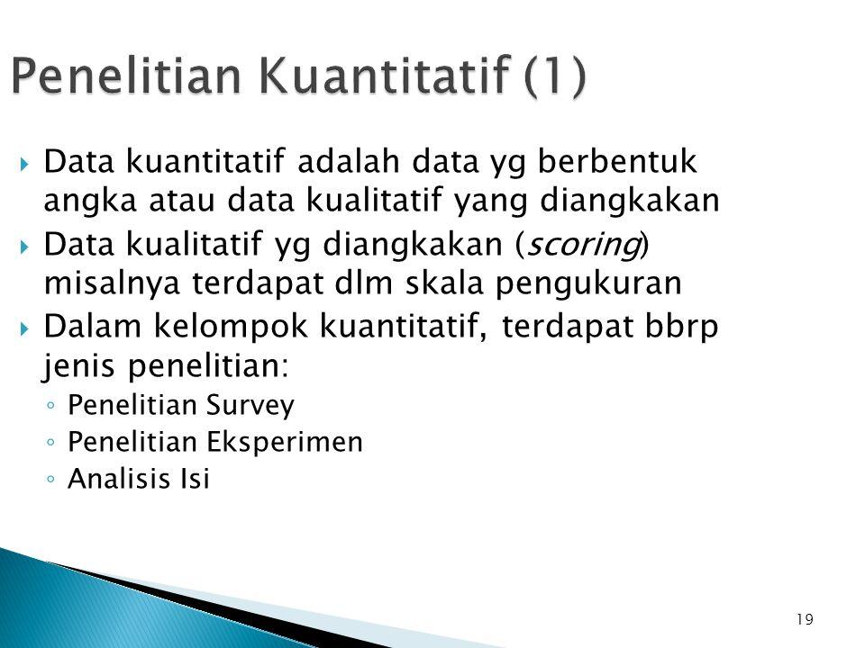 Penelitian Kuantitatif (1)