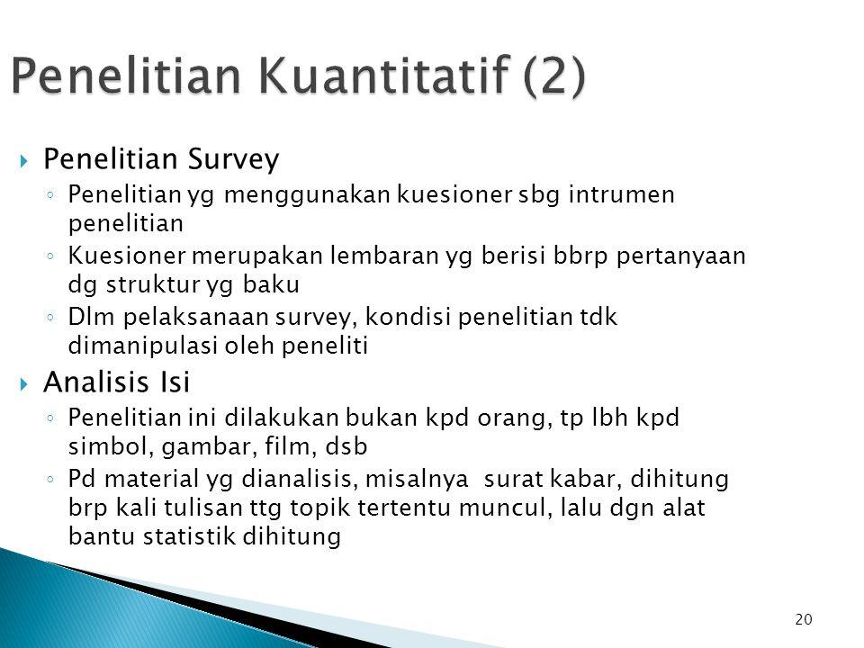 Penelitian Kuantitatif (2)