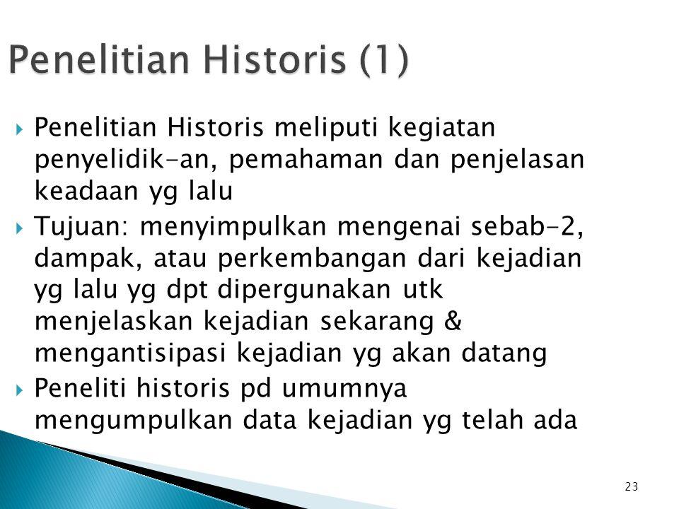 Penelitian Historis (1)