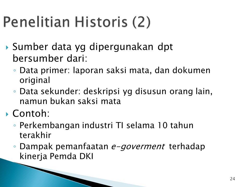 Penelitian Historis (2)