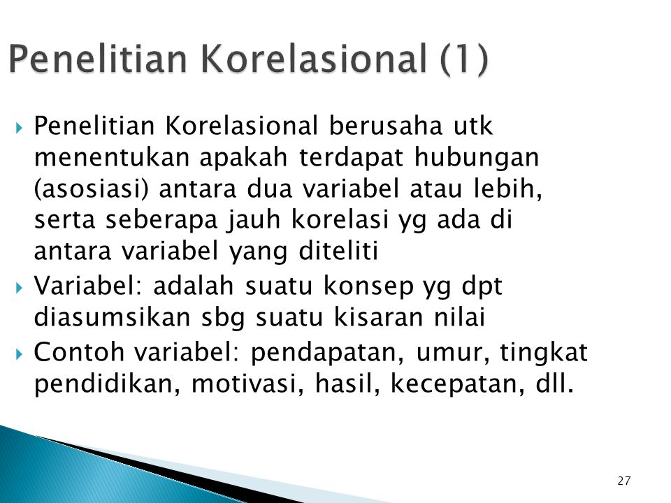 Penelitian Korelasional (1)