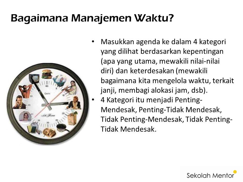 Bagaimana Manajemen Waktu