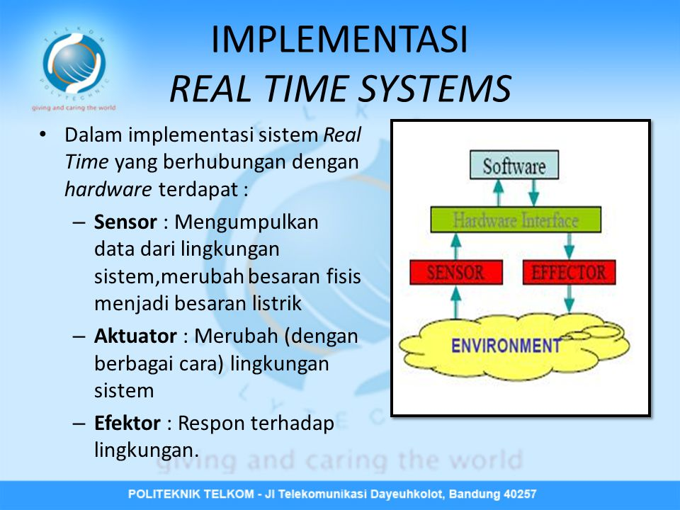 IMPLEMENTASI REAL TIME SYSTEMS