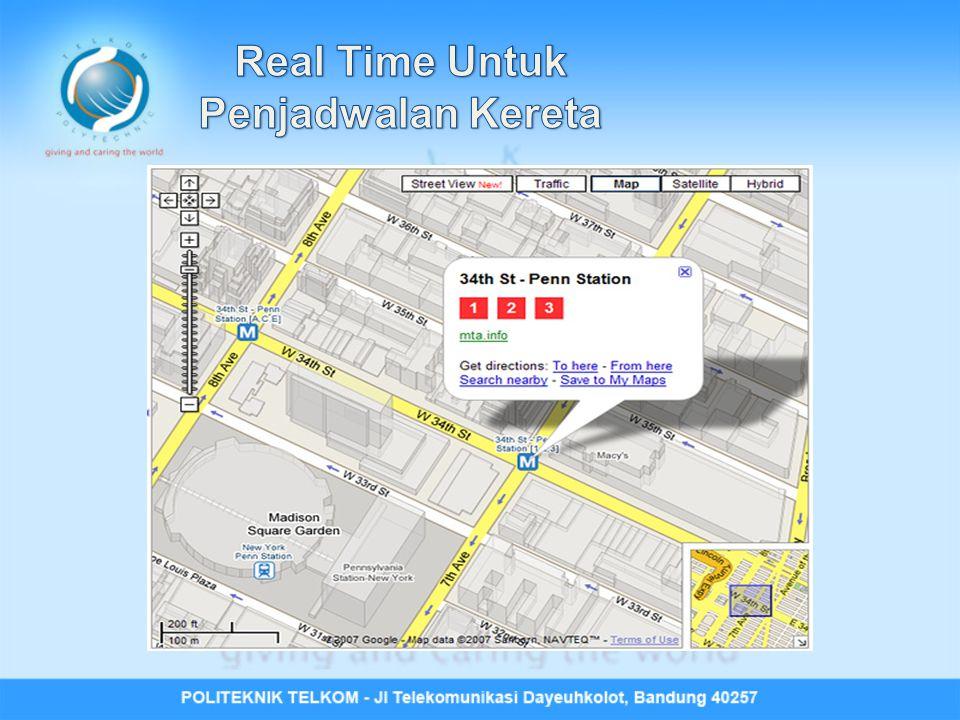 Real Time Untuk Penjadwalan Kereta