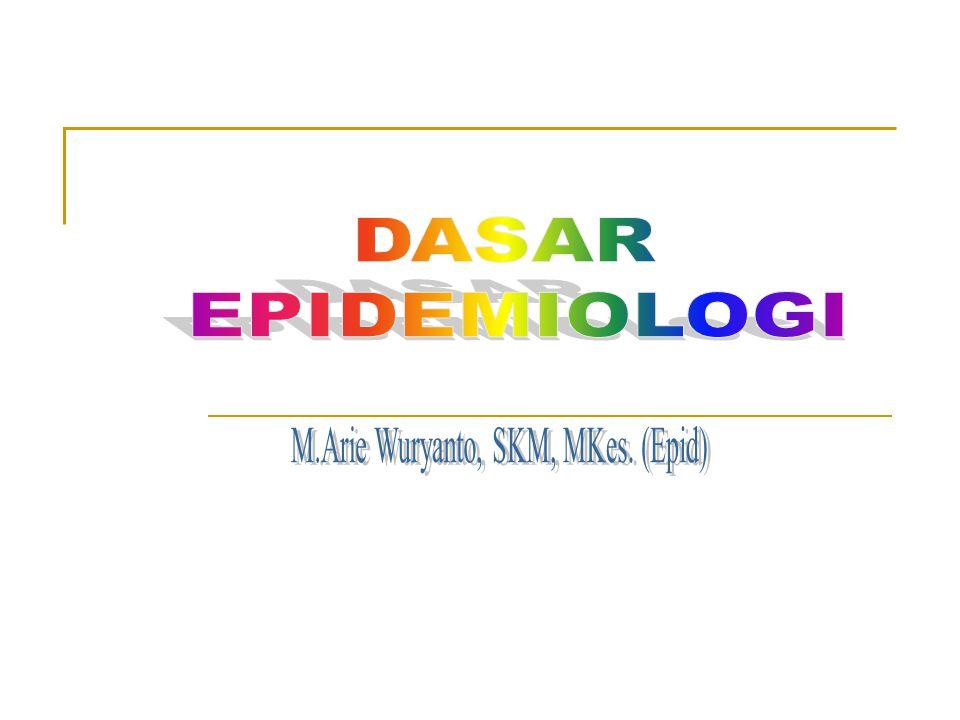 M.Arie Wuryanto, SKM, MKes. (Epid)