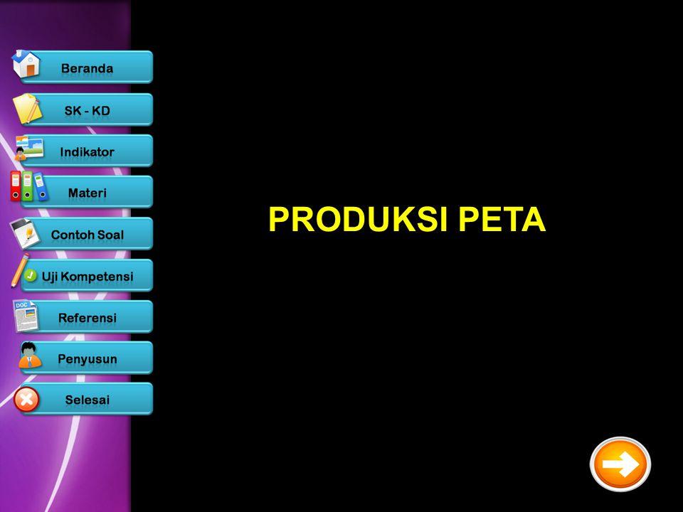 PRODUKSI PETA