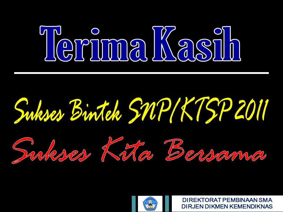 Sukses Bintek SNP/KTSP 2011