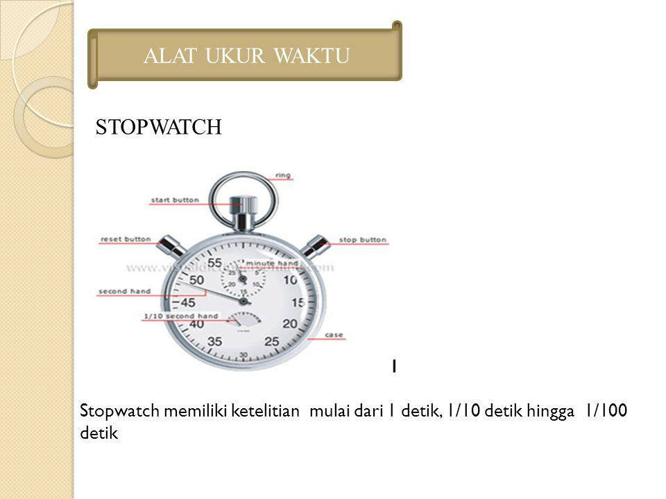 ALAT UKUR WAKTU STOPWATCH
