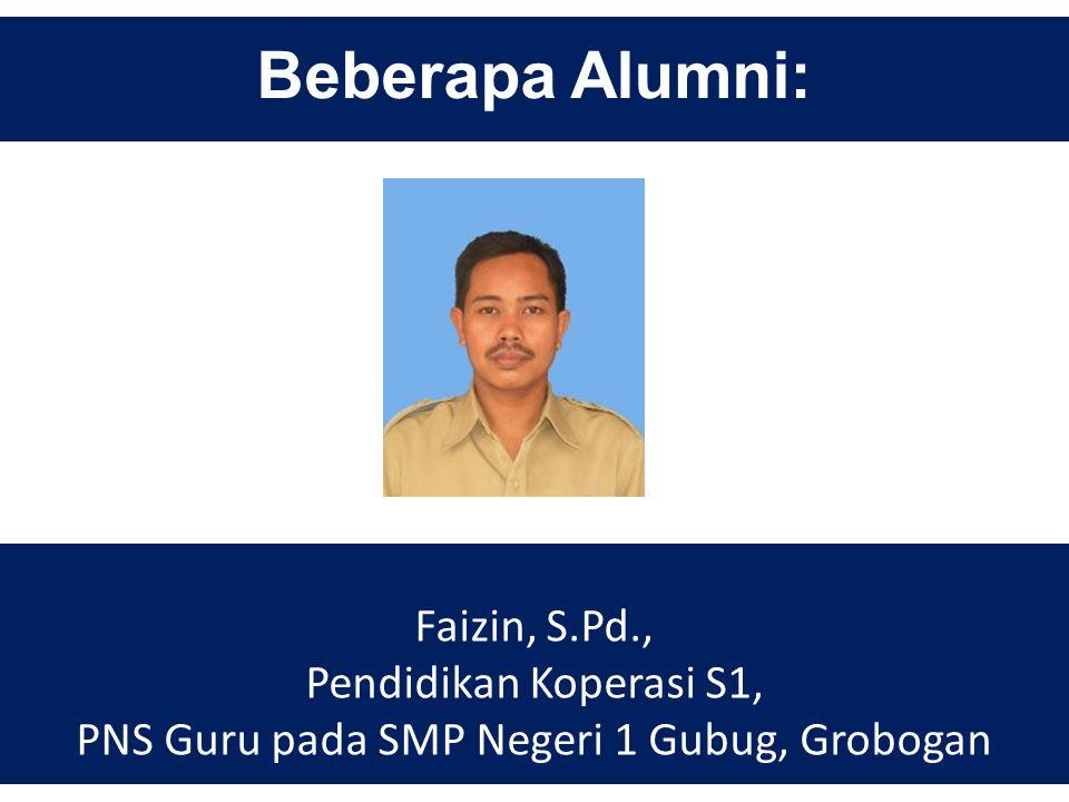PNS Guru pada SMP Negeri 1 Gubug, Grobogan