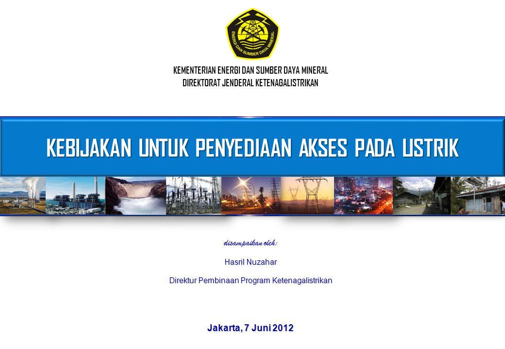 Kebijakan Pemerintah dalam Sektor Ketenagalistrikan (berdasarkan UU No