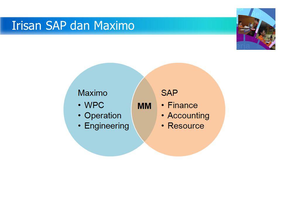 Irisan SAP dan Maximo