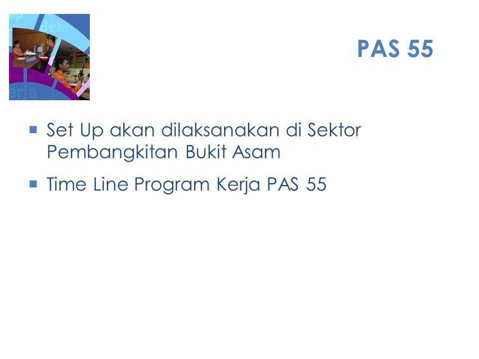 PAS 55 Set Up akan dilaksanakan di Sektor Pembangkitan Bukit Asam