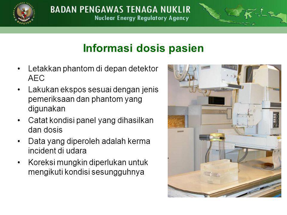 Informasi dosis pasien