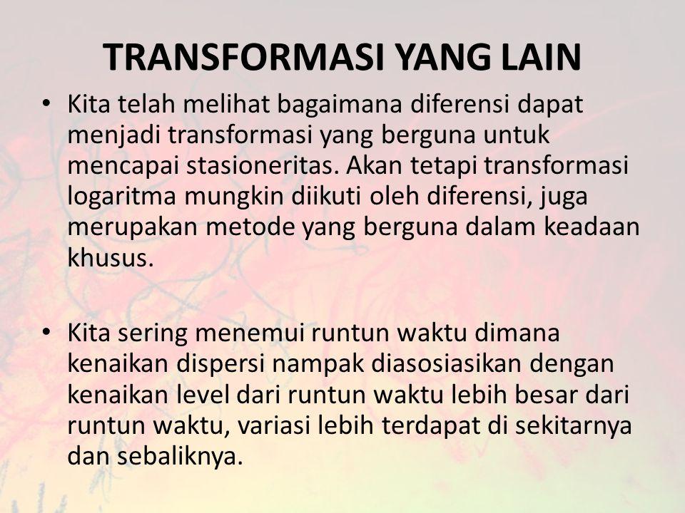 TRANSFORMASI YANG LAIN