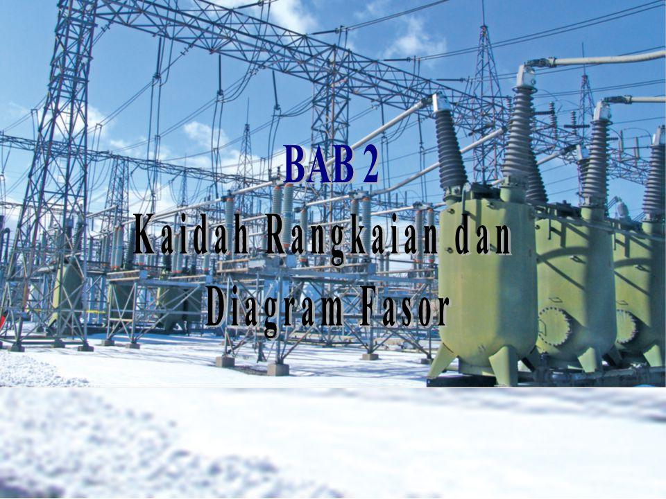 BAB 2 Kaidah Rangkaian dan Diagram Fasor