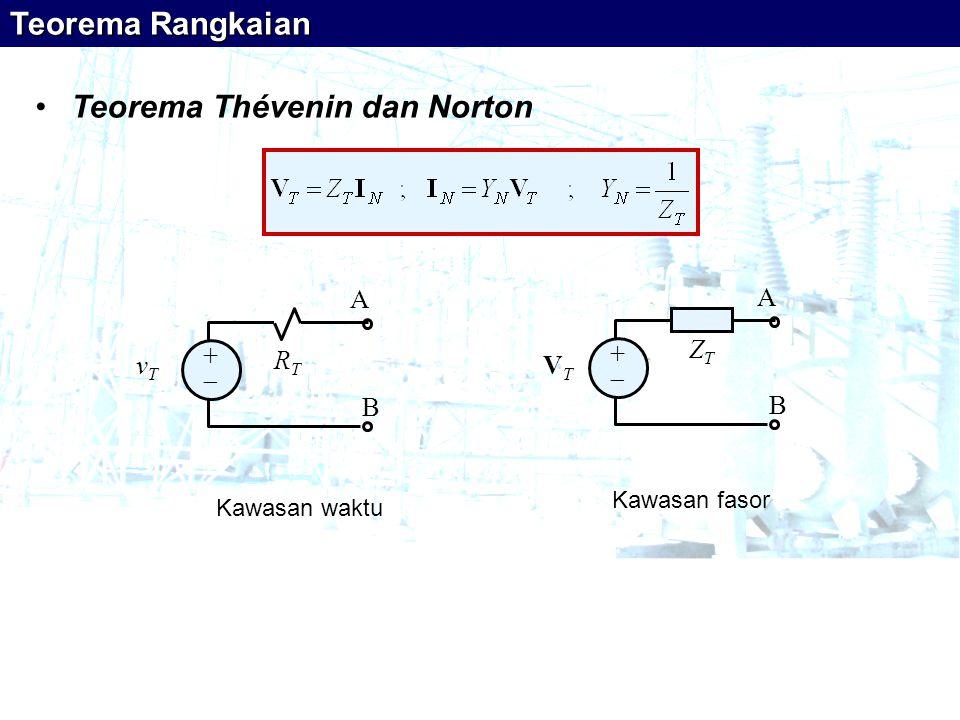 Teorema Thévenin dan Norton