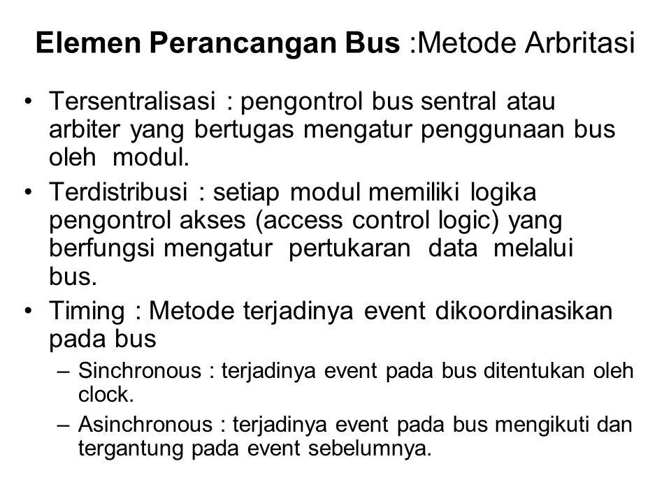 Elemen Perancangan Bus :Metode Arbritasi