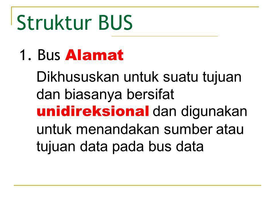 Struktur BUS Bus Alamat