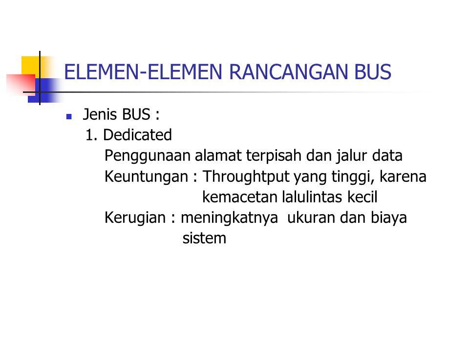 ELEMEN-ELEMEN RANCANGAN BUS