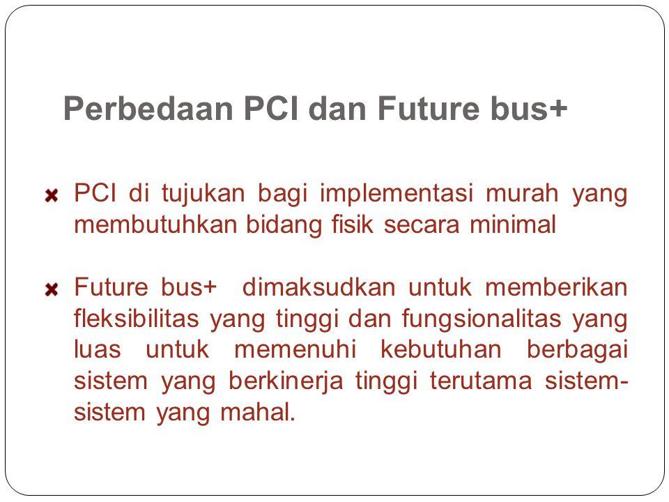 Perbedaan PCI dan Future bus+
