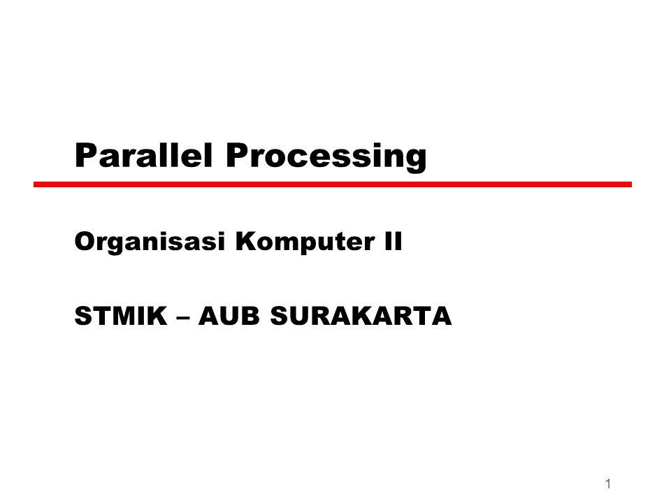 Organisasi Komputer II STMIK – AUB SURAKARTA