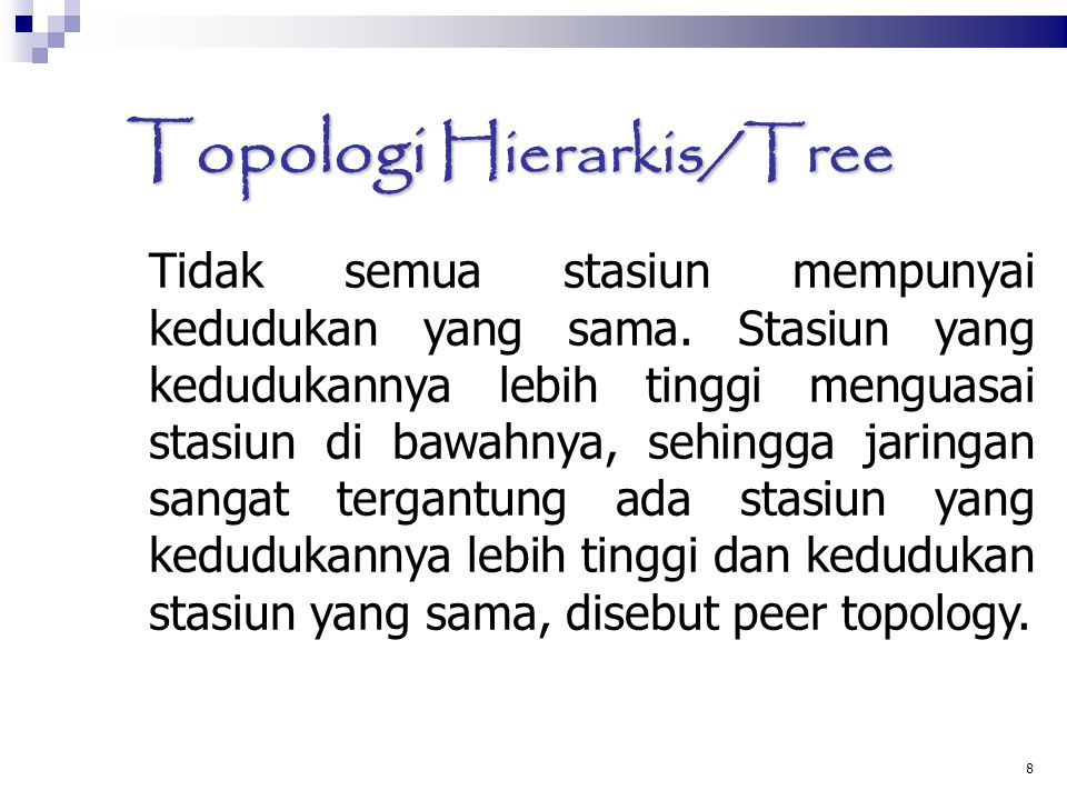 Topologi Hierarkis/Tree