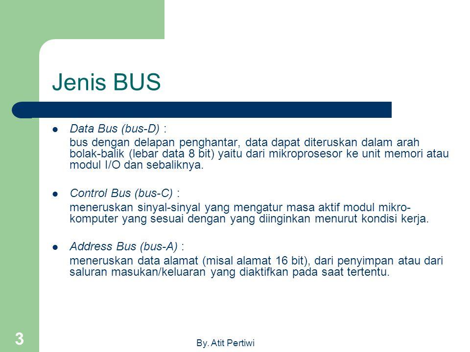 Jenis BUS Data Bus (bus-D) :